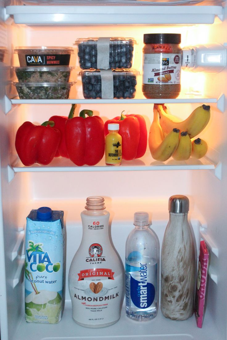Tips on How to Stock Your Dorm Mini-Fridge