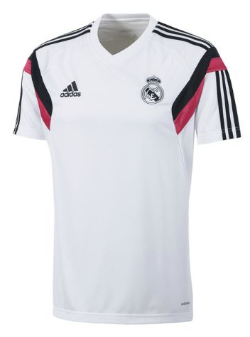 real madrid training jersey white Real Madrid Official Merchandise Available at www.itsmatchday.com