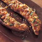 Try the Asian Eggplant Stuffed with Spicy Minced Chicken Recipe on williams-sonoma.com/