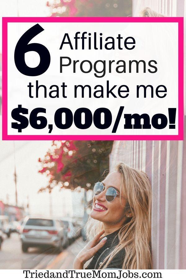 Die 6 besten Partnerprogramme, um Geld zu verdienen und 6.000 USD im Monat zu ve… – Teodor Szalai