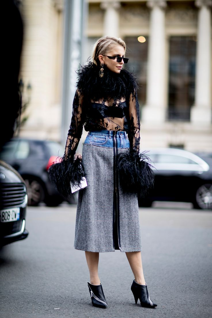 Paris Fashion Week Street Style Spring 2018 Day 5, The Best Street Style from Paris Fashion Week available to view at TheImpression.com