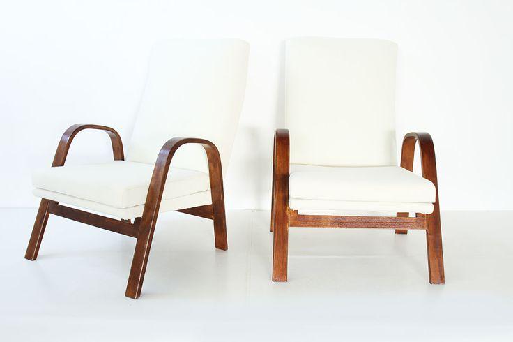 2 fauteuils arp pierre guariche joseph andr motte et. Black Bedroom Furniture Sets. Home Design Ideas