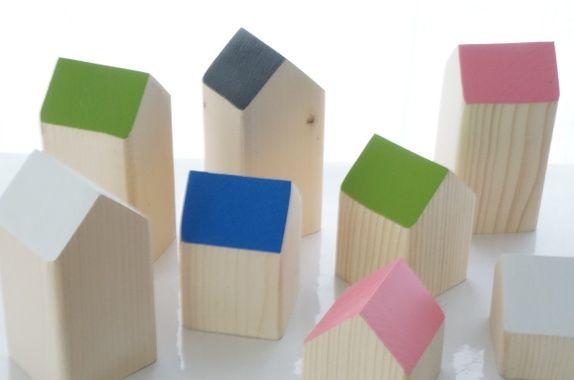 Flotte Hus tre, treleke, leke, leker, hus, interiør, pynt, moderne, barn, lek, snekkerdattera, dåp, bursdag, gave