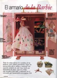 Lovely barbie armoire directions