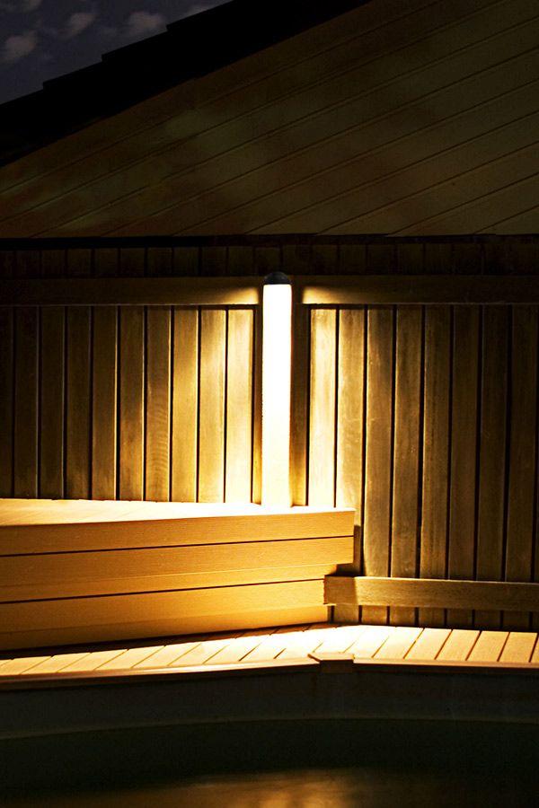 Led deck and step light led landscape lighting super bright leds