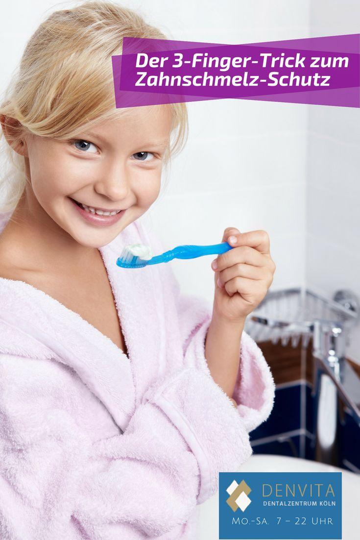 Wie Sie mit dem 3-Finger-Trick Ihren Zahnschmelz schützen http://www.denvita.de/zahnschmelz-3-finger-trick/