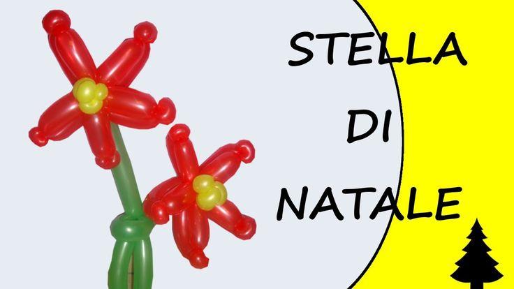 Video tutorial on how to make a Christmas Star with balloons twisting #christmas #ChristmasStar