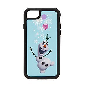 Olaf iPhone 7/6/6S Case   Disney Store Chill out every time you use your Olaf iPhone 7, 6, or 6S case. With its sunny image of our <i>Frozen</i> snowman, you're sure to get a warm reception wherever you go!