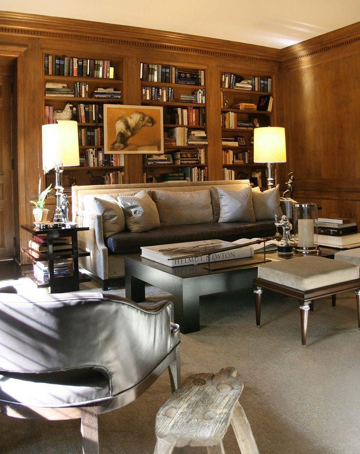 Library. Thom Filicia design.
