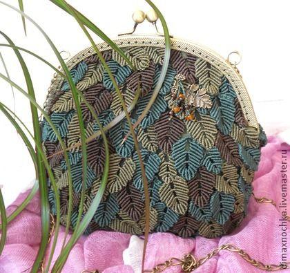 Micro-macrame purse