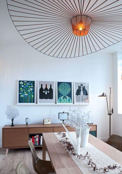 1000 id es sur le th me lustre de roue de chariot sur. Black Bedroom Furniture Sets. Home Design Ideas