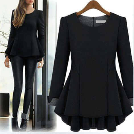 6XL Plus Size Winter Dress Women Autumn Casual Asymmetrical Length Office Black 2014 New Arrive Dresses Vestidos Femininos 0544 -in Dresses from Women's Clothing & Accessories on Aliexpress.com | Alibaba Group