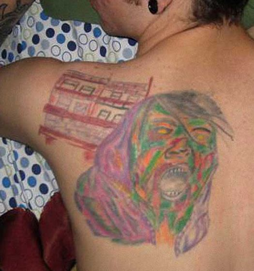 Ugly Face – Bad Tattoos America's Worst Tattoos Regrettable Awkward Stupid People Nasty Tats WTF Funny