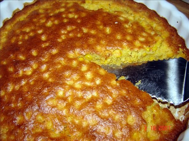 This cornbread, made without eggs, is delicious, and slightly more moist than traditional cornbread.