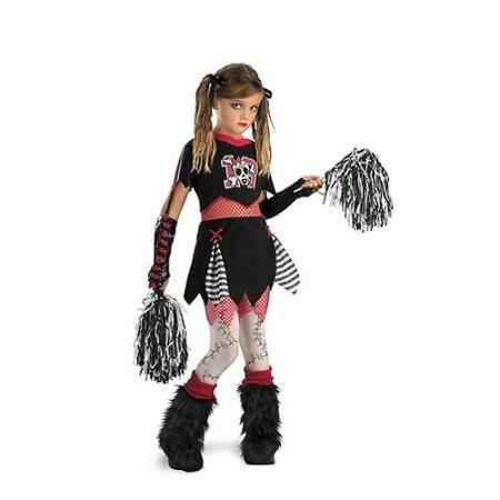 cheerless leader child costume size m walmartcom - Walmart Costumes Halloween Kids