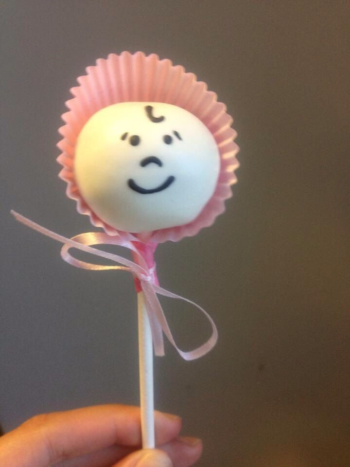 Baby Cake Pops by TreatsbyTam on Etsy https://www.etsy.com/listing/218836343/baby-cake-pops