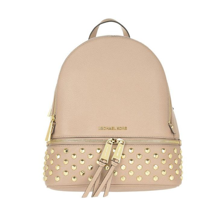 Michael Kors Michael Kors Tasche – Rhea Zip MD Backpack Oyster – in beige – Umhängetasche für Damen