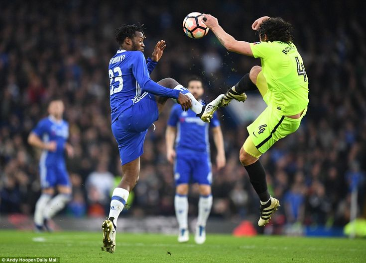 With plenty of rumours surrounding Michy Batshuayi's Chelsea future he was another to get a first team opportunity