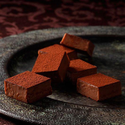 〈シェ・シブヤ〉から毎年人気の生チョコレートをバレンタインに。【バレンタインデー届け専用】生チョコナチュール 9個入