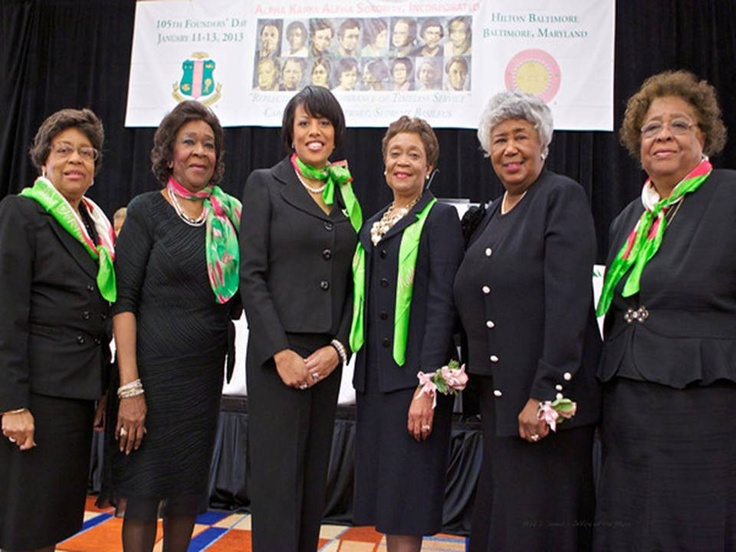 January 12, 2013 - Alpha Kappa Alpha Sorority, Incorporated 105th Founders Day Celebration #Legends#