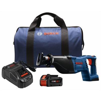 Bosch CRS180-B14 CORE18V 18-Volt Lithium-Ion 1 1/8-in Reciprocating Saw Kit