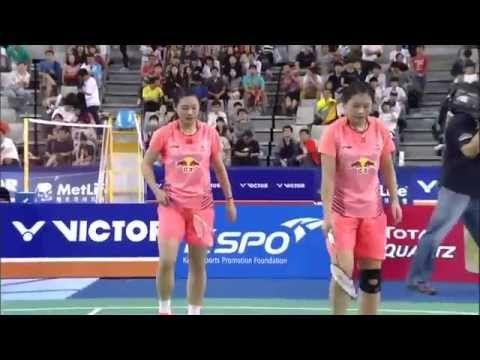 2015 Korea Open Semifinal | Nitya Krishinda Maheswari/Greysia Plii vs Lu...