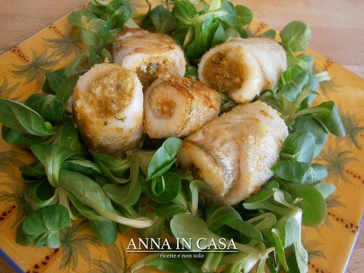 Pranzo o cena?  INVOLTINI DI PLATESSA/FLOUNDER ROLLS www.annaincasa.blogspot.it www.facebook.com/annaincasa #annaincasa