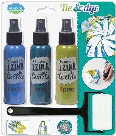 Aladine - 80696 - Papeterie - Izink Tie & Dye - Blue Hawai