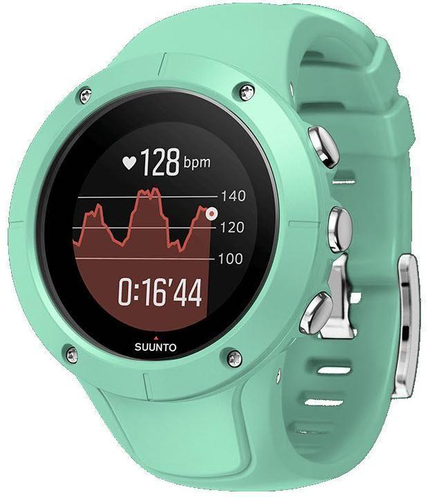 Suunto Watch Spartan Trainer Wrist Hr Ocean Add Content Bezel Fixed Bracelet Strap Rubber Brand Suunto Case Depth 15 7mm Case Material P Trainers Fitness Tracker Watches