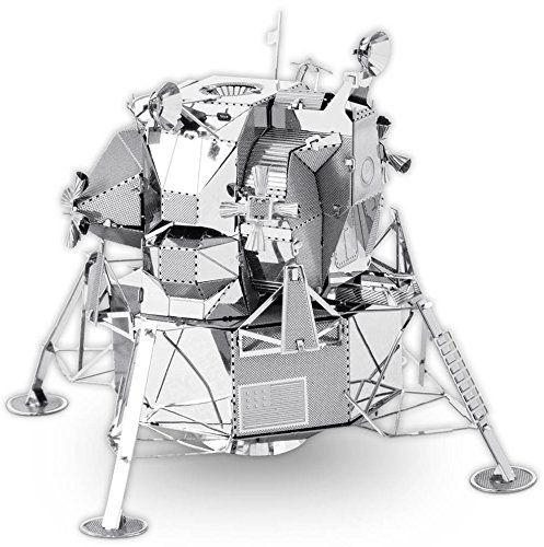 Metallic Nano Puzzle Apollo Lunar Module /  Amazon.co.jp: メタリックナノパズル アポロ月着陸船 TMN-37: おもちゃ