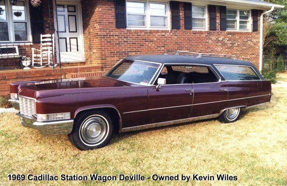 1969 Cadillac Wagon Wagons Ho Classic Cars Usa