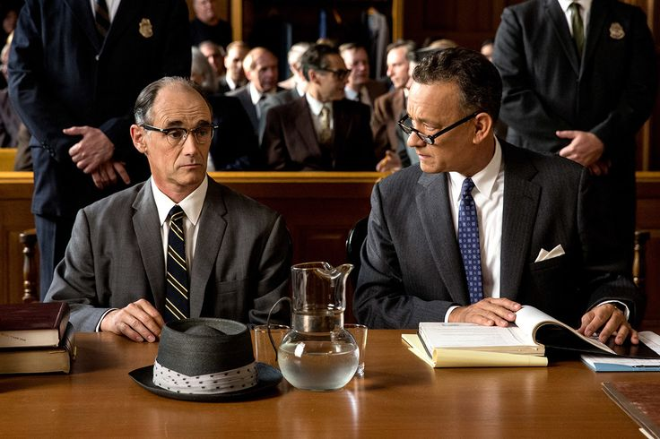The Best Movie Pairs of 2015 | Vanity FairJames Donovan (Tom Hanks) and Rudolf Abel (Mark Rylance)—Bridge of Spies An old-fashioned drama about men of morals in difficult times, Bridge of Spies is also a story of surprising friendship, and it would not work if Hanks and Rylance didn't so immediately sell the unlikely bond between Brooklyn lawyer Donovan and Russian spy Abel. Even when the film reaches a hard-won happy ending, it's sad to see the two part.