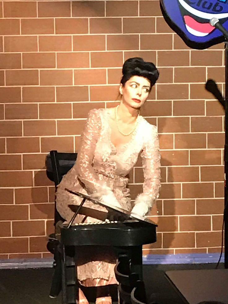 Despina Mirou as Joan Crawford