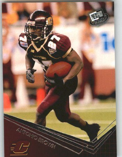 Antonio Brown WR - Central Michigan (RC - Rookie Card) 2010 Press Pass NFL Draft Football by Press Pass. $2.53. Antonio Brown WR - Central Michigan (RC - Rookie Card) 2010 Press Pass NFL Draft Football