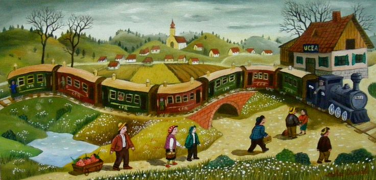 The train- First Prize, American Art Awards 2015