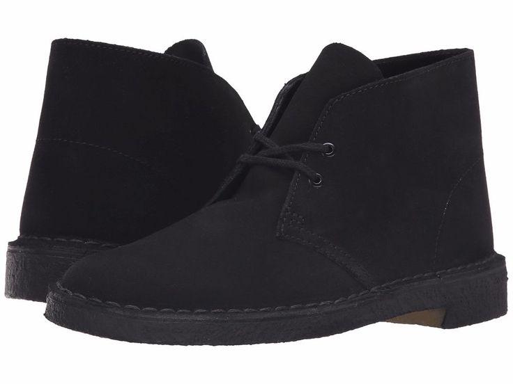New Mens Clarks Original Desert BT Core Black Suede Chukka Ankle Boots Size 10.5 #Bogs #AnkleBoots