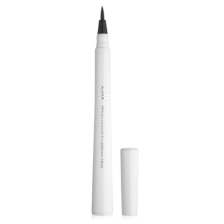 Best felt liner to date BUT dries out and runs out of ink quickly. Essentials Waterproof Eyeliner Pen from e.l.f. Cosmetics | Buy Essentials Waterproof Eyeliner Pen online | e.l.f. Cosmetics
