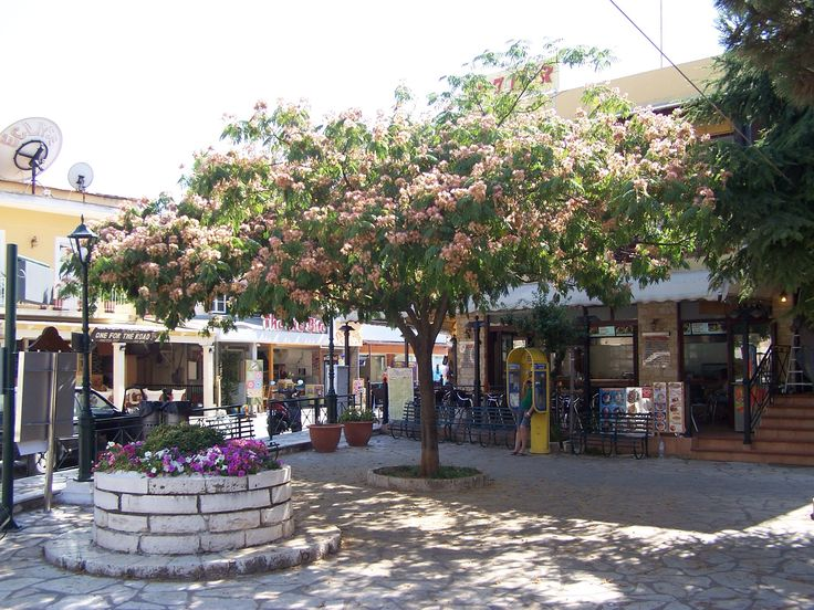 Kassiopi village square