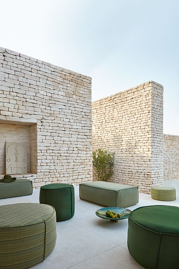 Touch collection by Manutti. outdoor living, green, trend color, outdoor decor, …  – | Outdoor