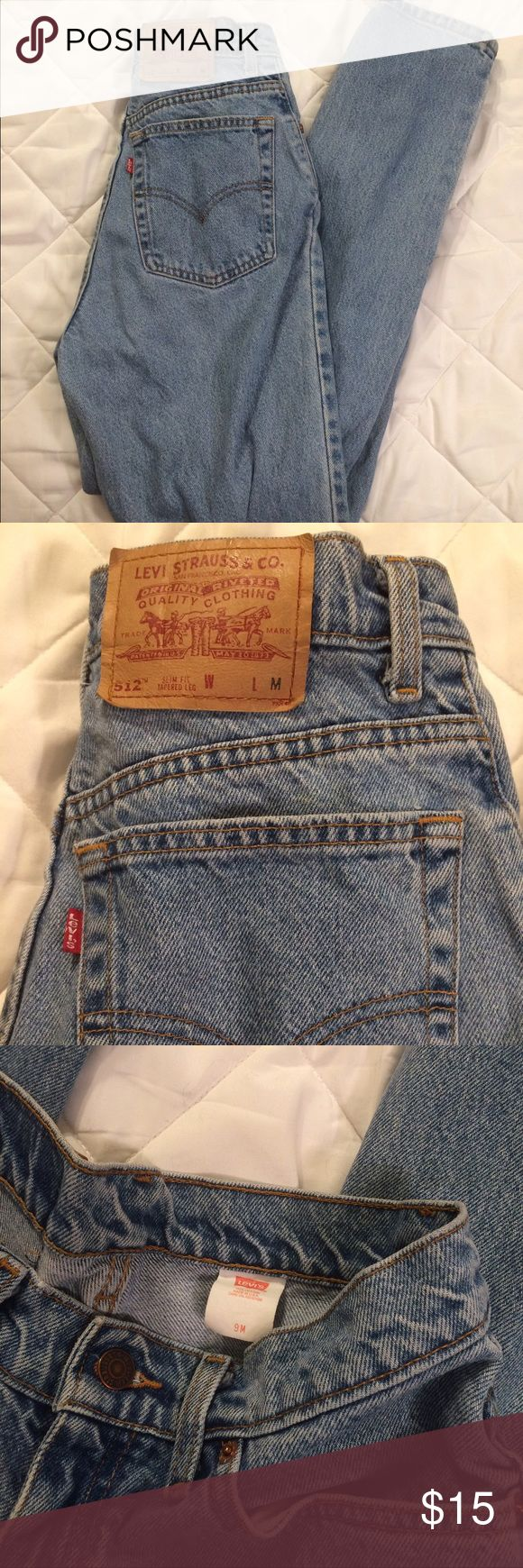 vintage levi's 512 jeans such a cute fit! tag says 9 so im guessing it would fit 8-10 depending on the fit you want Levi's Jeans