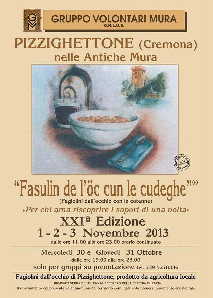 "dal 30 ottobre - Pizzighettone (CR) - ""Fasulin de l'òc cun le Cudeghe"""