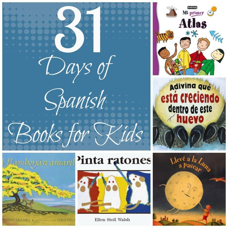 Debbie's Spanish Learning: 31 Days of Spanish Books for Kids