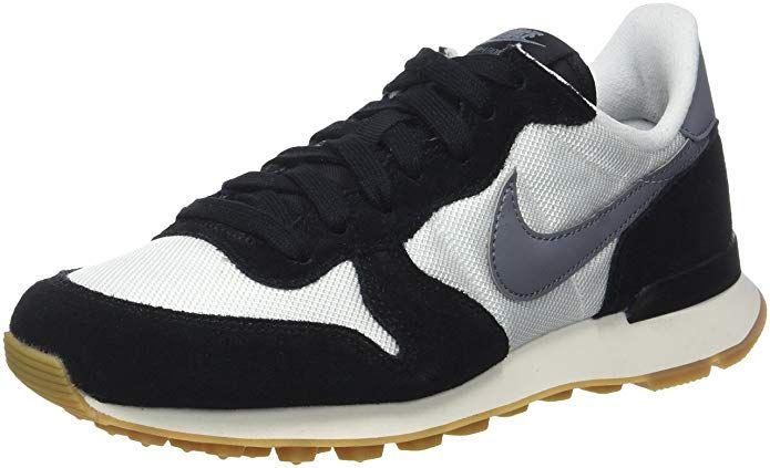 Nike Internationalist Sneakers Damen Schwarz Weiss Nike Internationalist Fitness Schuhe Nike Damen