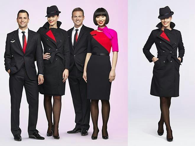 New Qantas uniform