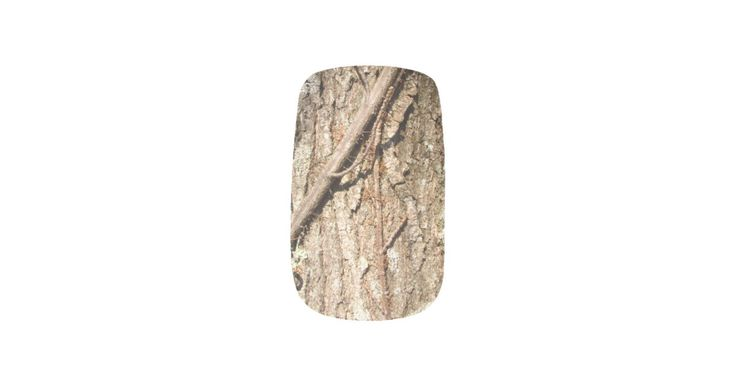 Ash tree Bark ~ nails Minx Nail Wraps | Zazzle