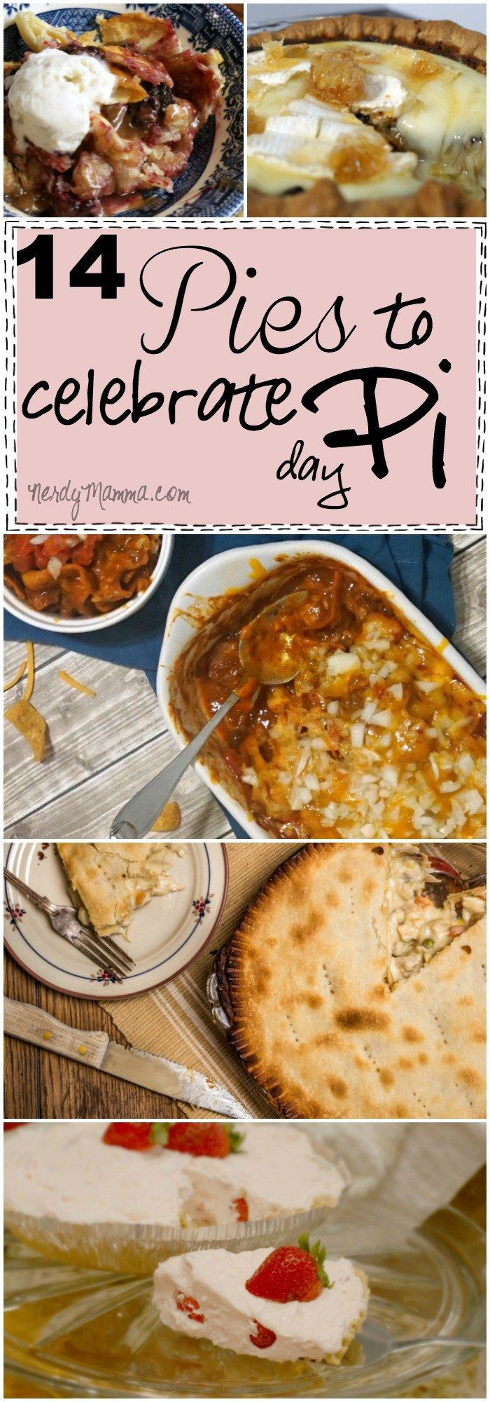 These 14 Pies to celebrate pi day are just--well, full of pie! LOL!