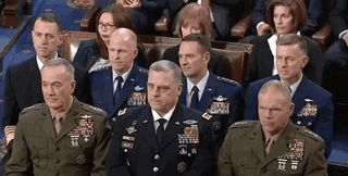 generals reacting to increasing our nuclear arsenal- 2018 SOTUA