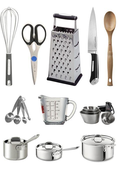 Best 25 Kitchen equipment list ideas on Pinterest  First apartment list Kitchen items list