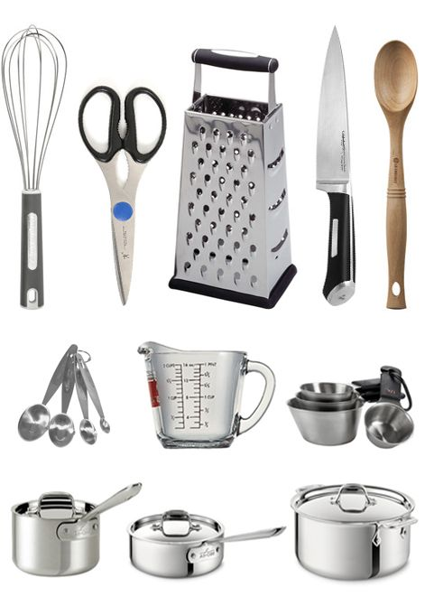 17 best ideas about kitchen essentials list on pinterest for Kitchen utensils list