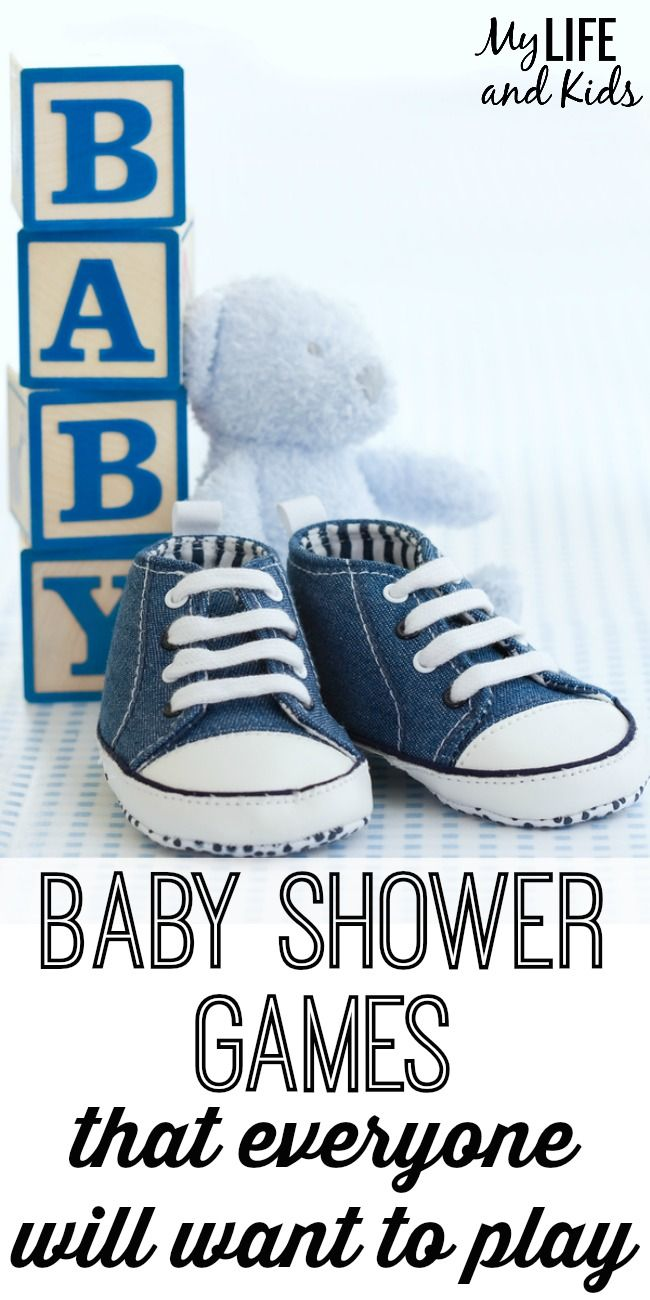 Planning a baby shower?  These 15 baby shower games will ensure everyone has fun!